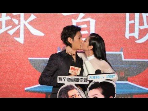 李冰冰强吻陈坤太暧昧 那画面太美我不敢看