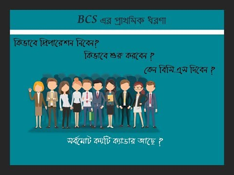 What is BCS| How many Caders|Brief History| BCS EXAM- for beginers