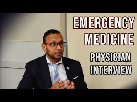 Emergency Medicine Physician Interview | ER Day in the Life, Residency Match, Burnout, Etc
