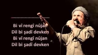 Şivan Perwer - Ez dilgêşê Canim (lyrics) sözler