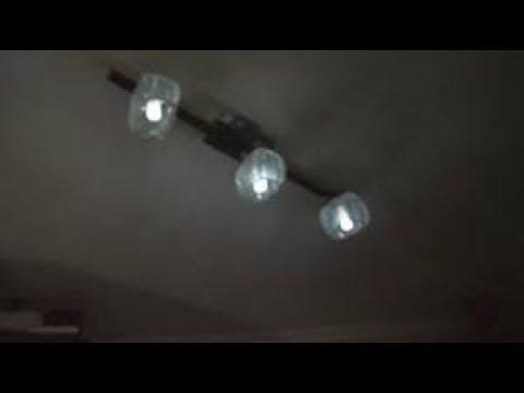 Лампы подсвечивают в выключенном состоянии . Подбор емкости шунтирующего конденсатора .