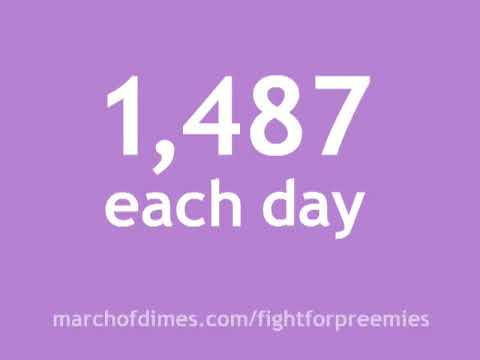 March of Dimes <b>Prematurity Awareness Month</b> Visit to learn how you can ...