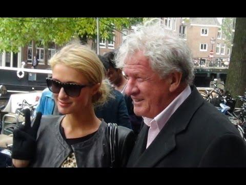 Paris Hilton & River Viiperi in Amsterdam.(de foto's)
