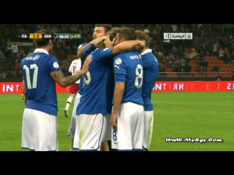 Italy.VS.Denmark 16/10/2012