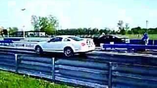 Camaro vs 07 Shelby GT500 Mustang