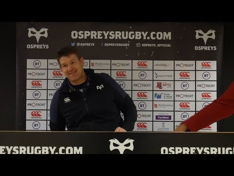 Press Conference: Ospreys v Ulster (Post Match)