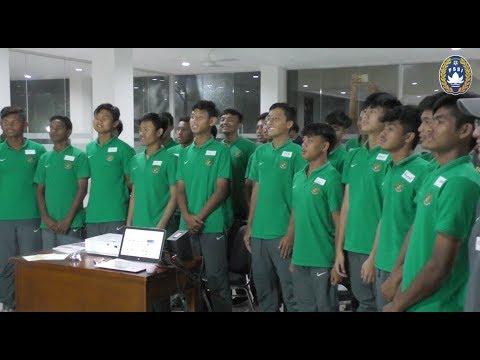 Pemain Tim Nasional U-16 Belajar Bahasa & Kebudayaan Jepang Sebelum Ikut Turnamen