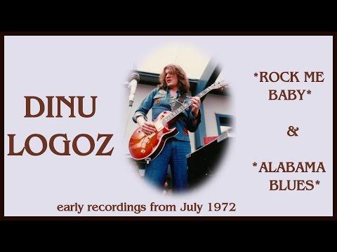 Dinu Logoz: Rock Me Baby/Alabama Blues (recorded1972)