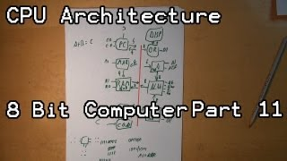 How A Computer Works AKA CPU Architecture Lets Build 8 Bit Computer Part 11