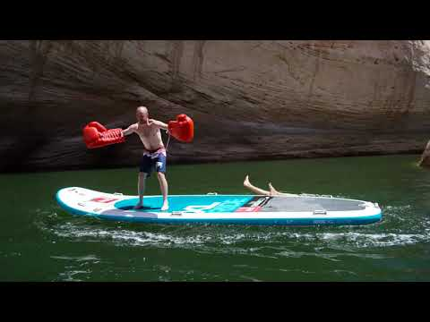SUP boxing rental - Paddle Board Boxing   KO'd and Drowning