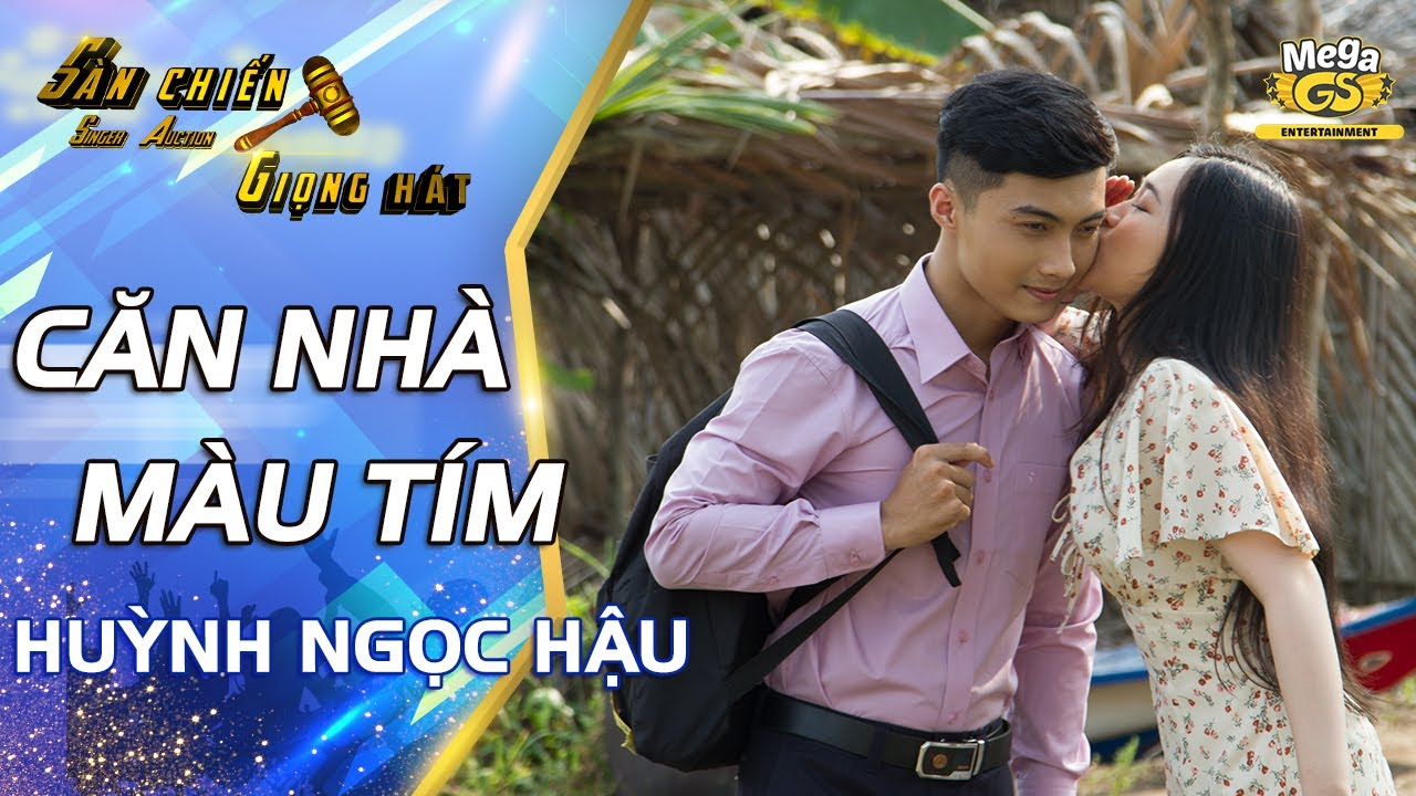 CĂN NHÀ MÀU TÍM – Huỳnh Ngọc Hậu (Official MV) | Chàng trai hát nhạc trữ tình lay động con tim