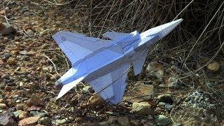 Paper JAS-39 Gripen 3D model