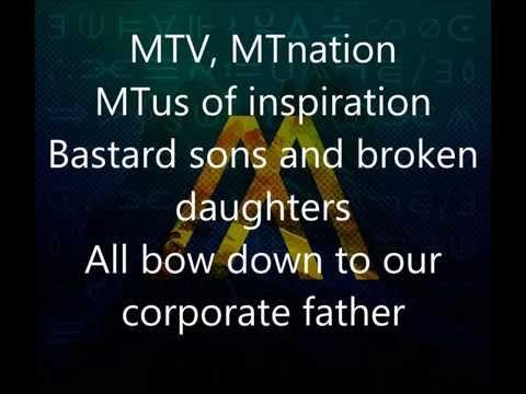 Nothing More - Mr. MTV Lyric Video