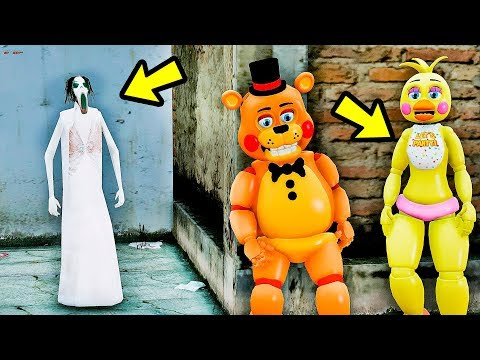 ANIMATRONICS Podem ESCAPAR da Super SLENDRINA? | GTA V Five Nights at Freddy's thumbnail