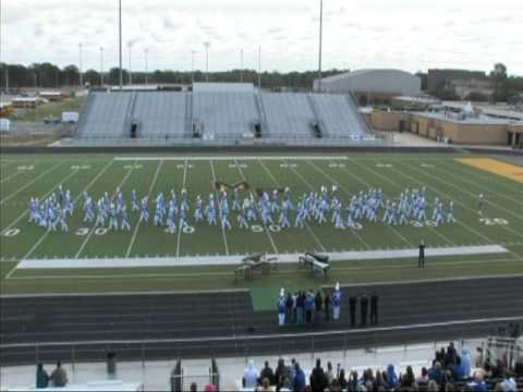 Spring Hill High School marching band, UIL Class 3a Mt. Pleasant, Tx. 2011