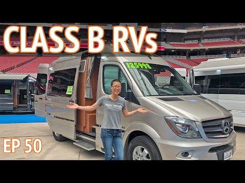 Class B RVs at the Super B RV Show + Truma Heating System for RVs
