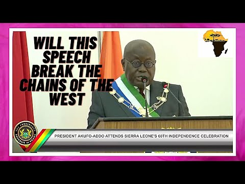 Will Ghana's President regret this speech to America and Europe that may cost his life?