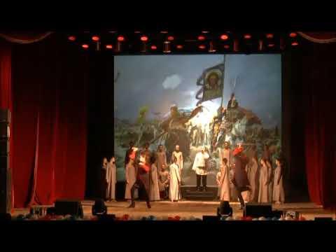 Фланкировка в Чапаевске. Cossack sword work. Dance with a sword