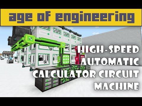 Age Of Engineering - TUTORIAL - AUTOMATIC Calculator Circuit Machine