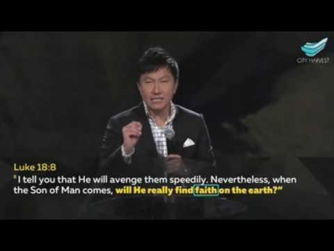 Rev Dr Kong Hee : Determined Faith