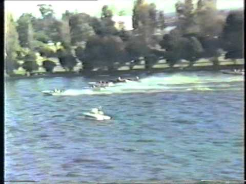 Speedboat Racing April 1986 Albert Park Lake Part 3