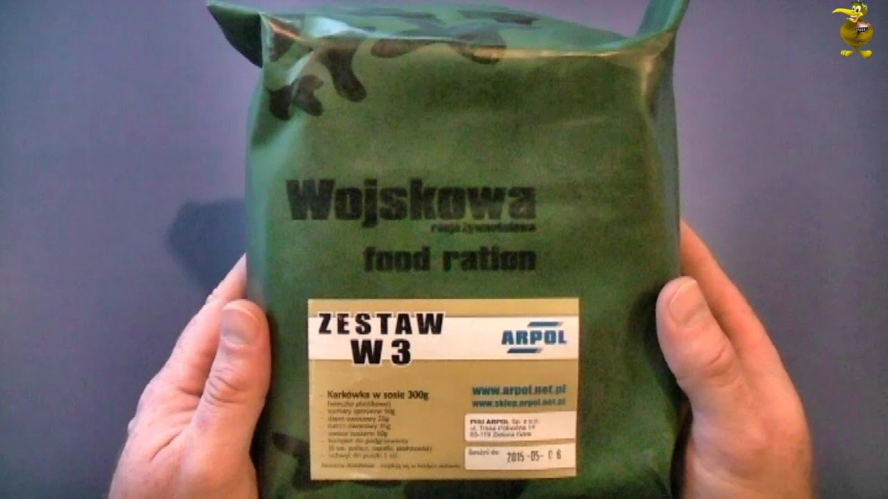 how to cook ration packs