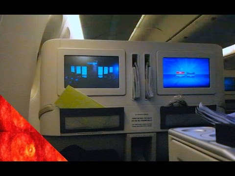 Korean Air Prestige Sleeper B777-300ER to Seoul Incheon 대한항공