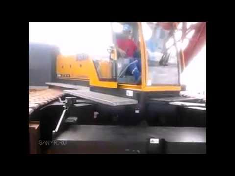 Гусеничный кран SANY SCC (150 тонн)