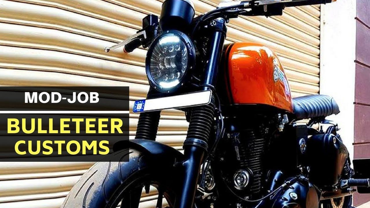 10 BEST modified Royal Enfields from Bulleteer Customs