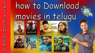 How to Download HD movies in Telugu   Download Telugu movies   How to download latest FREE 100 %   