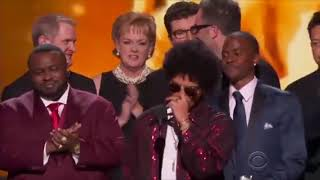 """Bruno Mars wins Album of the Year at the Grammys 2018 and says """"Thank You"""""""