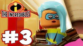 LEGO INCREDIBLES - Part 3 - New Heroes! (HD Gameplay Walkthrough)