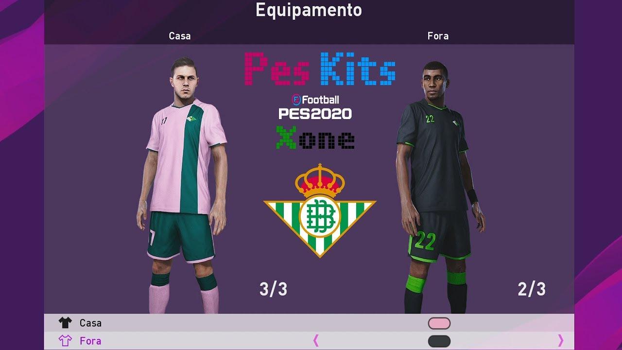 Real Betis Kits Pes 2020 Youtube