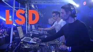 LSD (Luke Slater, Steve Bicknell, Function) - Live (Astropolis 2018)