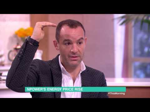 NPower's Energy Price Rise and What to Do About It | This Morning
