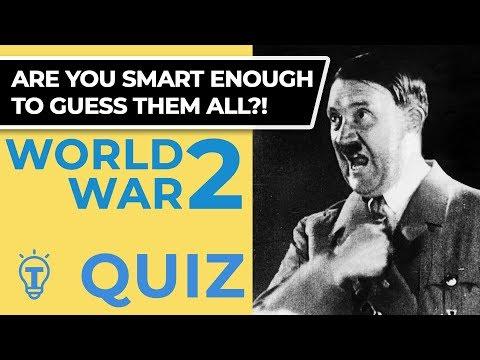 20 Trivia Questions - World War 2 Quiz Ep.61 ❓🤔