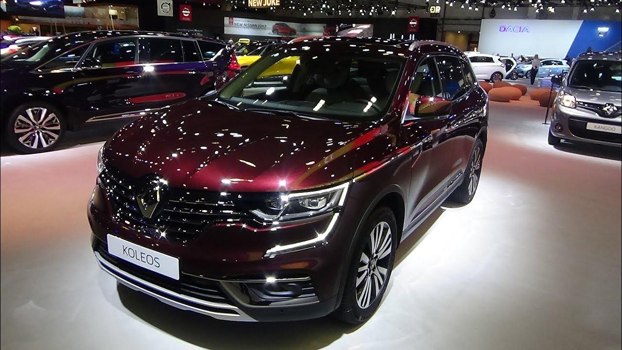 2020 Renault Koleos Initiale Paris Blue DCi 150 X-Tronic