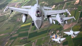 Baltic Air Policing Over Lithuania