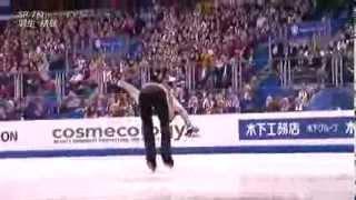 SP7位 羽生結弦  FS 2012 世界フィギュアスケート選手権 2012 world figure skate campionships