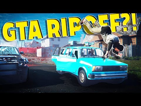 THE WORST GTA RIP-OFF EVER! - MadOut Big City Grand Theft Auto 5 Knock-off Gameplay!