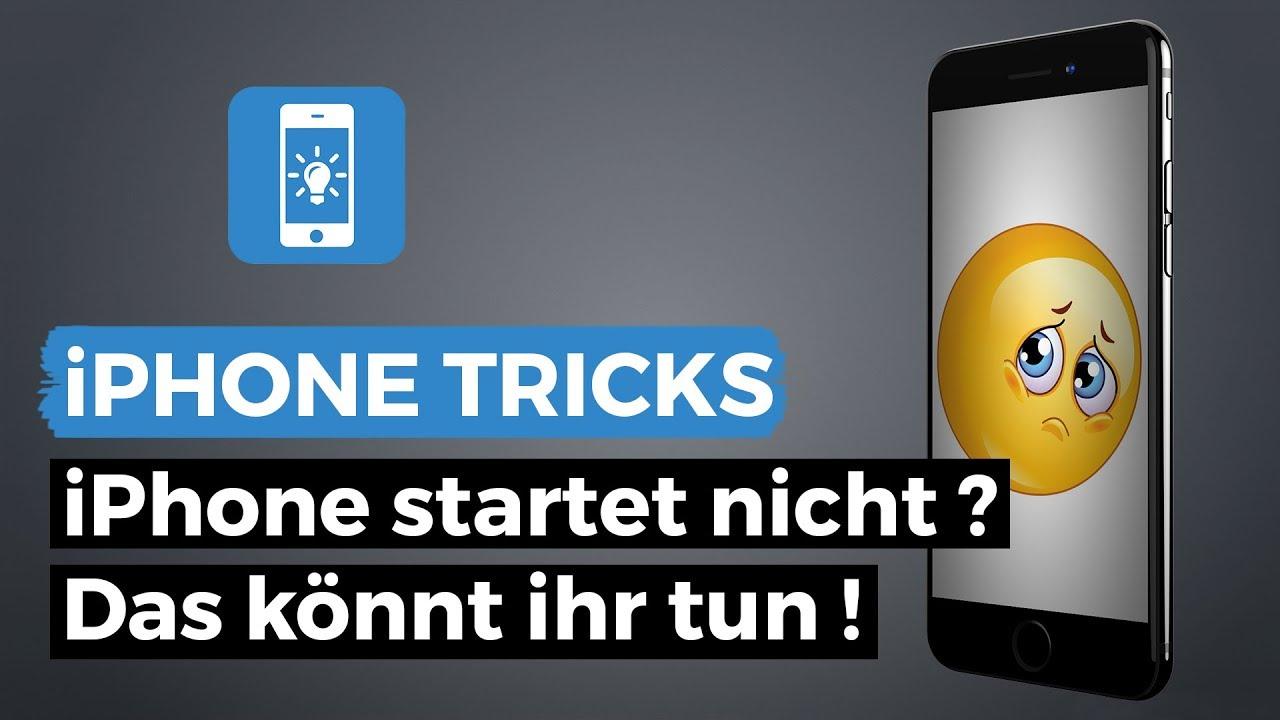 iphone 5 lässt sich nicht mehr ein schalten