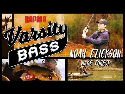 Rapala Varsity Bass Episode 2: Noah Ezickson // Wake Forest University on Lake Guntersville