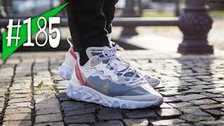 new style b5817 916d7 185 - Nike React Element 87 - Reviewon feet - sneakerkult