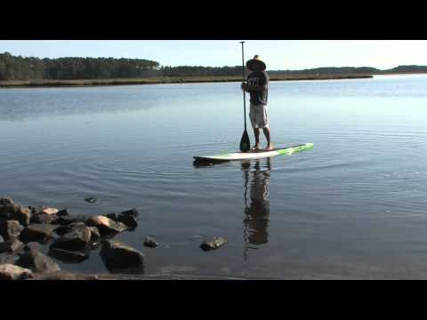 Riviera 404 Floater Danny Ching Review by What SUP stand up paddle