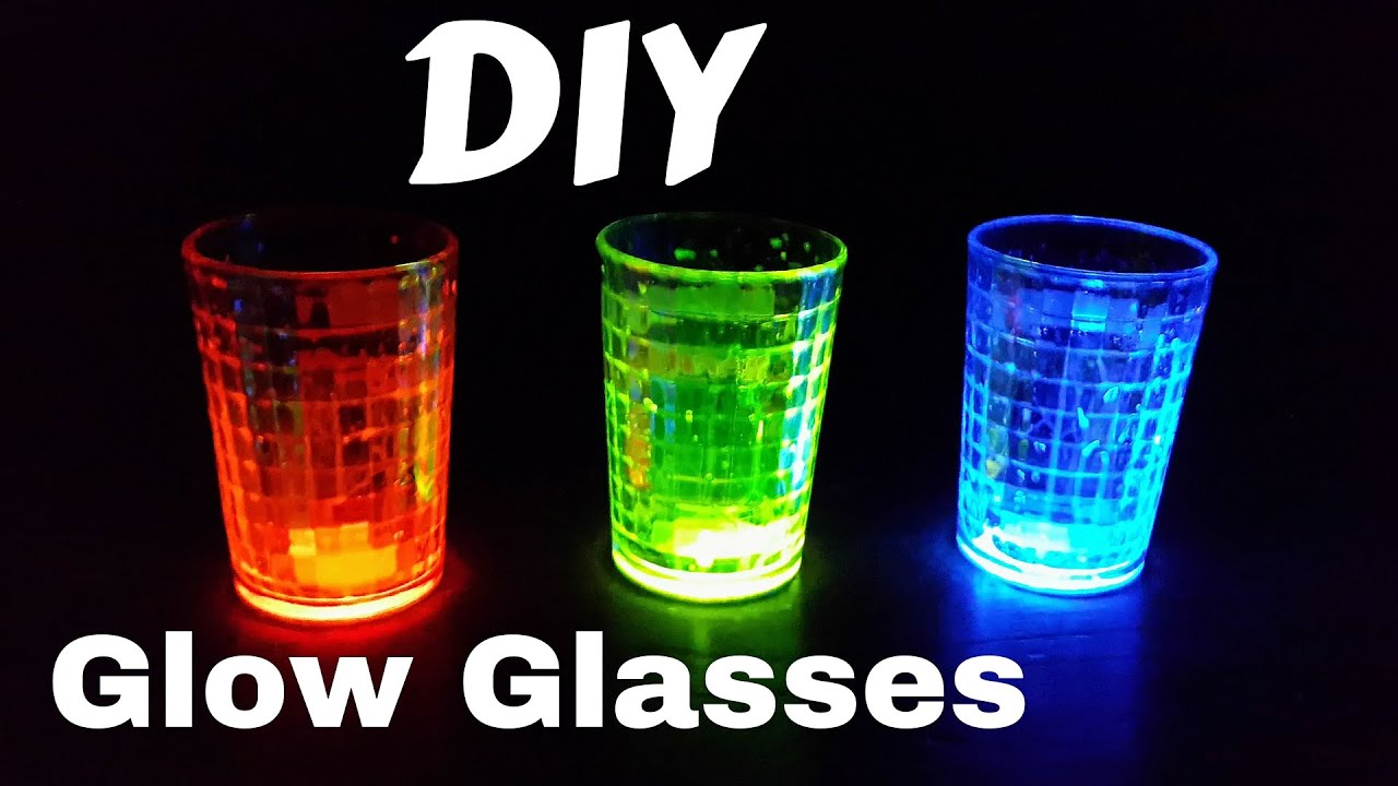 how to make glow glasses with glow sticks for party celebration