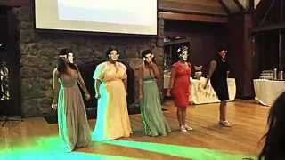 Best dance ever: Wedding flash mob to One Direction