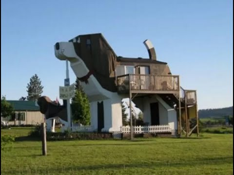 Dog Bark Park Inn B&B, Cottonwood, Idaho, United States