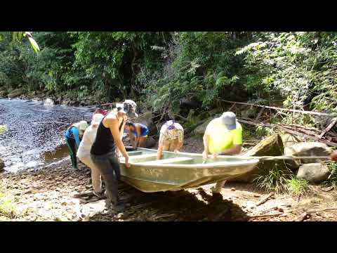 Guyana: Amatuk to a portage  over Waratuk: pt 4