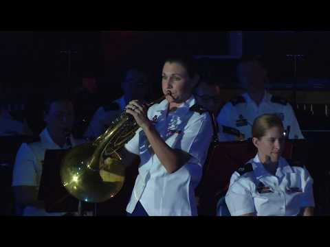 Richard Strauss Concerto no. 1 for horn and band, Staff Sgt. Nicole Caluori
