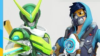 Overwatch: Genji and Tracer poppin